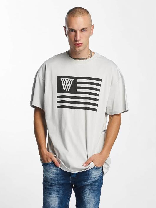 K1X T-paidat NOH Flag harmaa