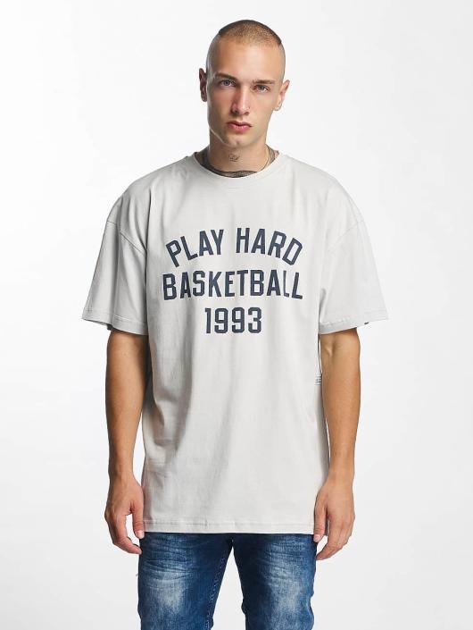 K1X T-Shirt Play Hard Basketball grey