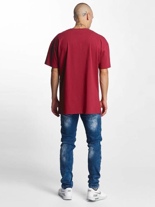 K1X T-Shirt Play Hard Basketball rot