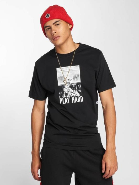 K1X T-Shirty Shattered czarny