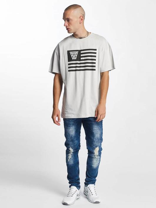 K1X T-Shirty NOH Flag szary