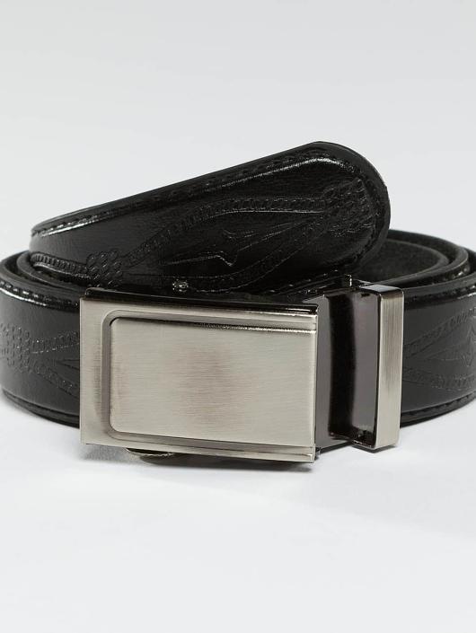 Kaiser Jewelry Vyöt Leather Belt musta