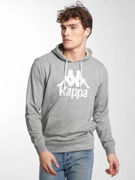 Kappa Bluzy z kapturem Zimim szary