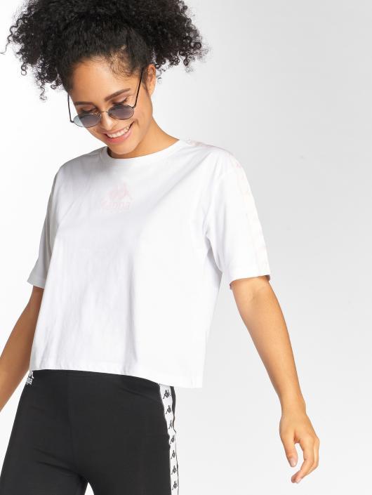 Kappa T-Shirty Teet bialy