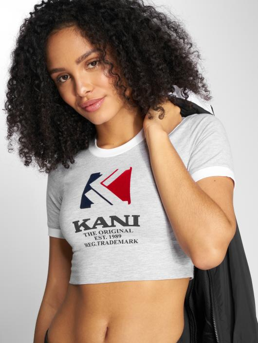 Karl Kani Damen T-Shirt OG in grau 498078 dcd8aa0147