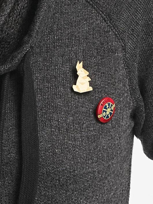 Khujo Пуловер Alva серый