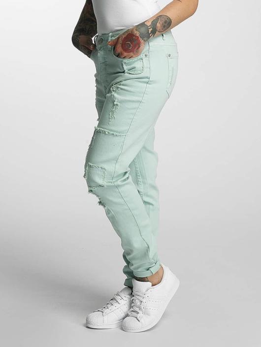 Khujo Boyfriend Jeans Isidora green