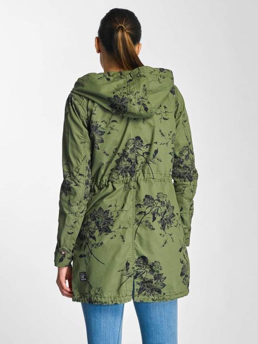 Khujo Mantel Kaatje grün