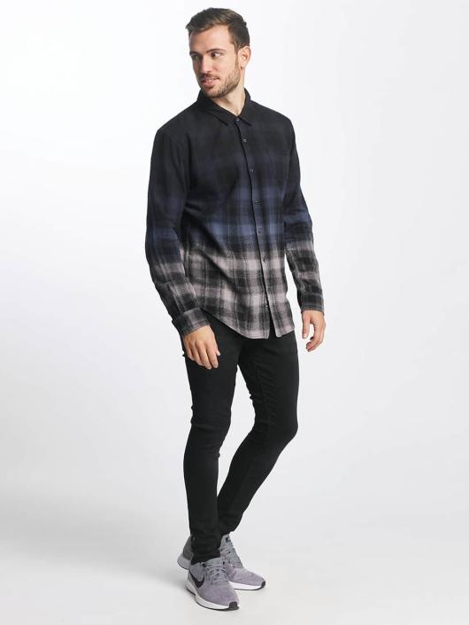 Khujo overhemd Shayn zwart