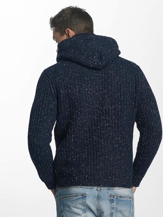 Khujo Pullover Plenty Knit blue