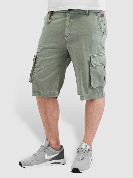 Khujo Shorts Cedrik grün