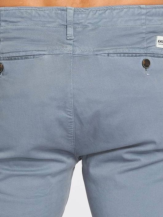 Khujo Spodnie wizytowe Bendeict niebieski