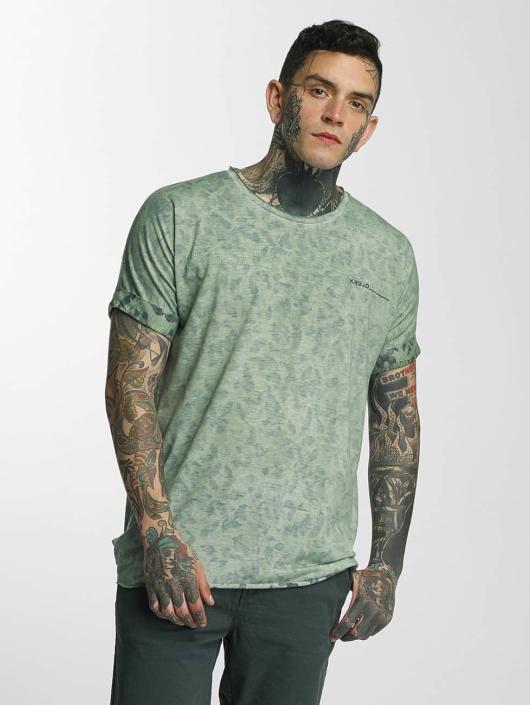 Khujo T-Shirt Usher grün