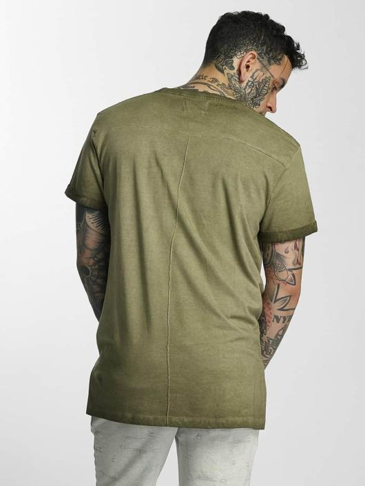 Khujo T-Shirt Test olive