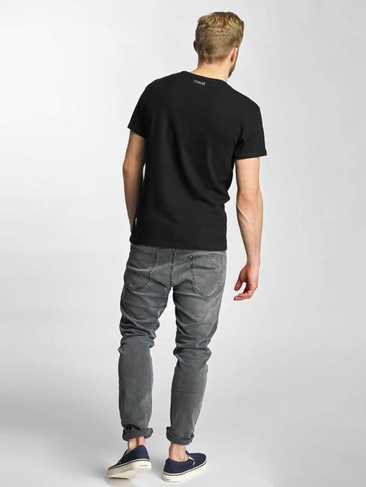 Khujo T-Shirt Tough schwarz