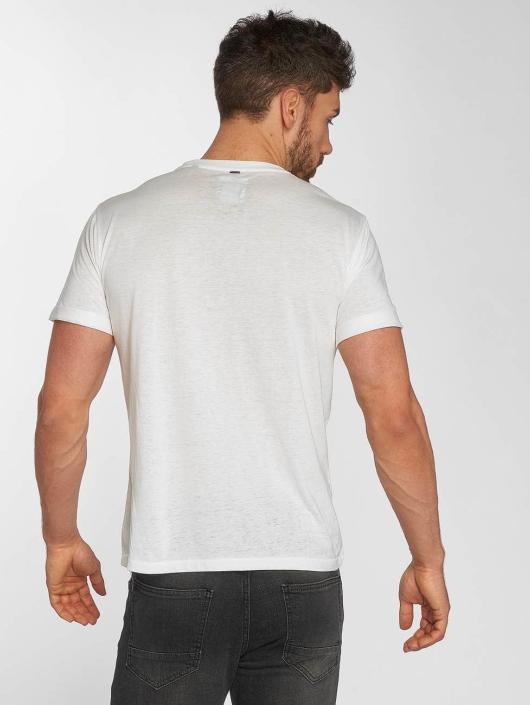 Khujo T-Shirt Thyrone white