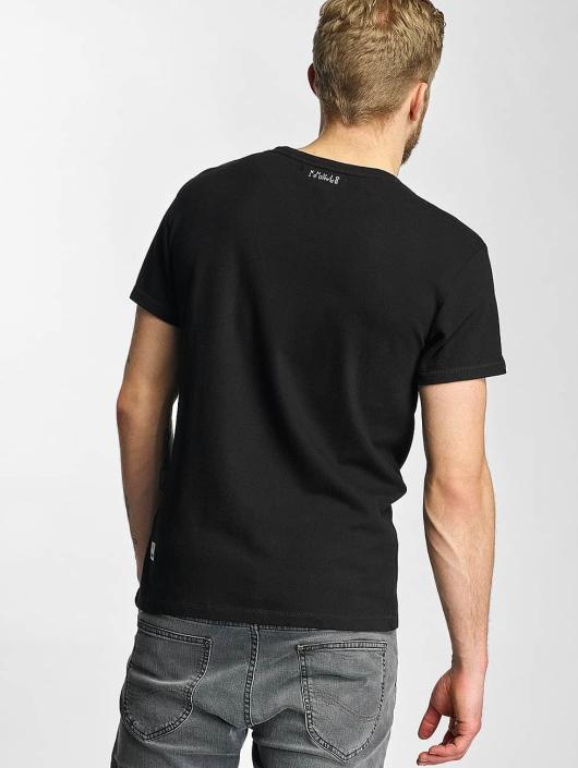 Khujo T-skjorter Tough svart