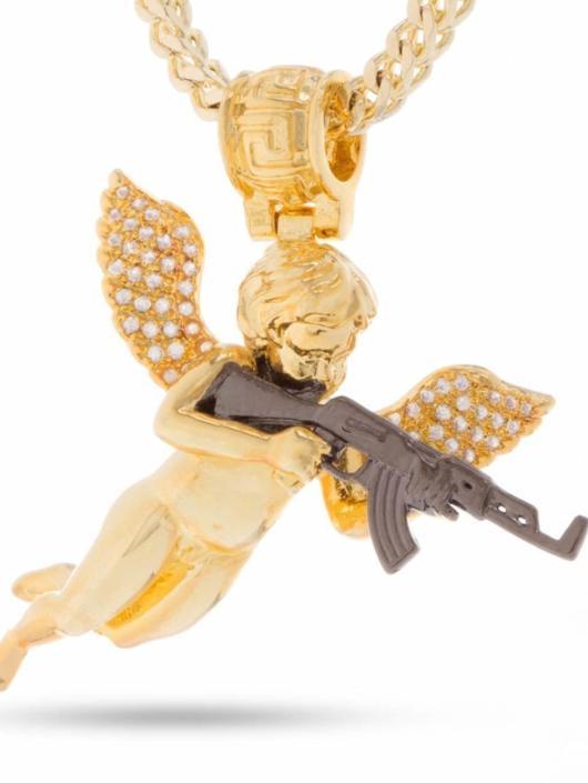 KING ICE Kette Archangel Of Reprisal goldfarben