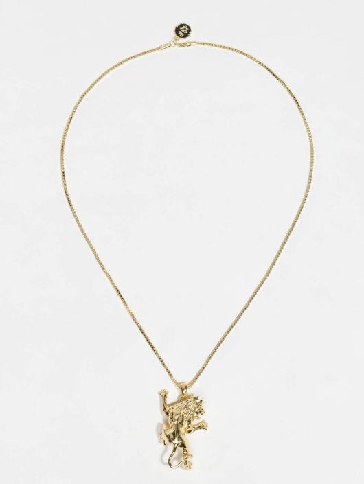 KING ICE Kette JUNGL JULZ Gold_Plated goldfarben