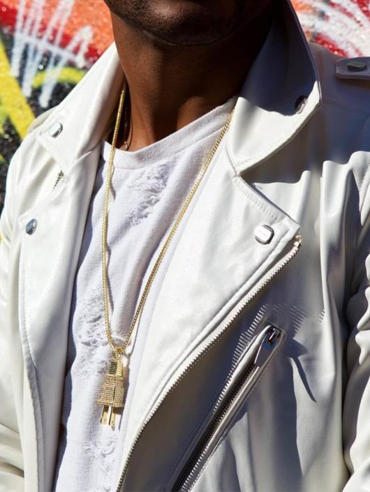 KING ICE Necklace Plug gold colored