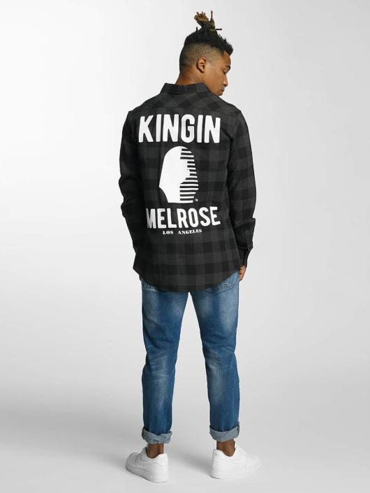 Kingin Рубашка Melrose серый