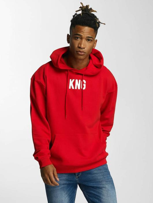 Kingin Bluzy z kapturem Melrose czerwony