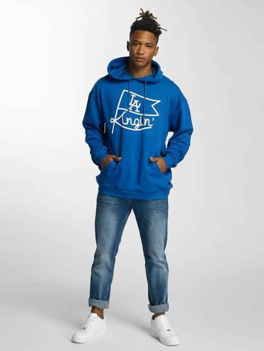 Kingin Bluzy z kapturem Flag niebieski