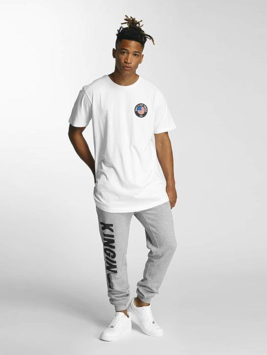 Kingin T-skjorter Melrose hvit