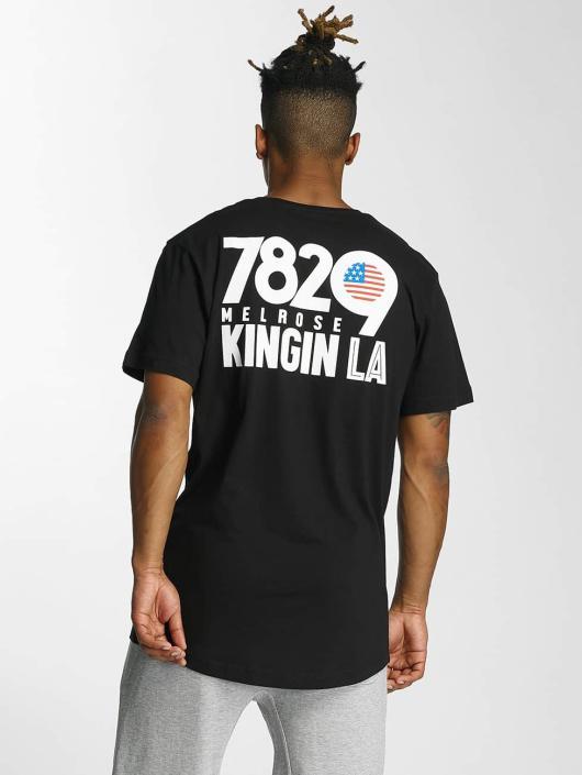 Kingin T-skjorter Melrose svart