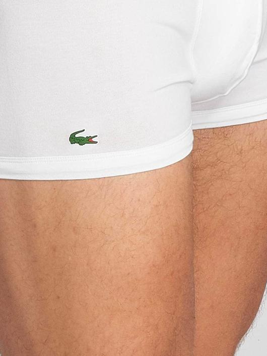 Lacoste Boxer 3-Pack Trunk blanc
