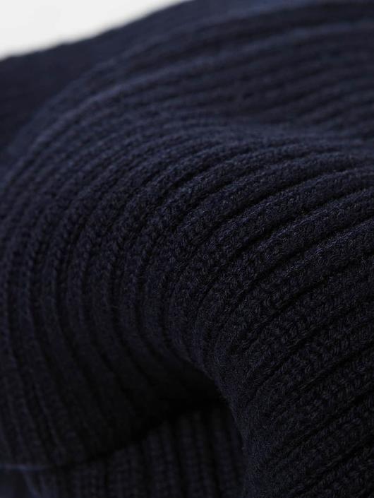 Lacoste Echarpe Knitted bleu