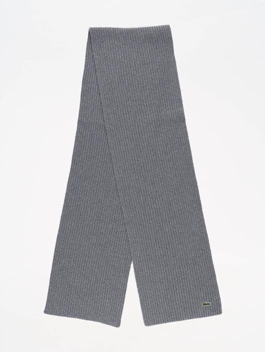 f50b2eeb7838 Lacoste Echarpe Knitted gris  Lacoste Echarpe Knitted gris ...