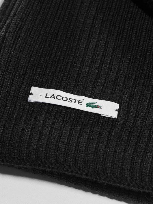 Lacoste   Knitted noir Homme Echarpe 352743 6363b266199