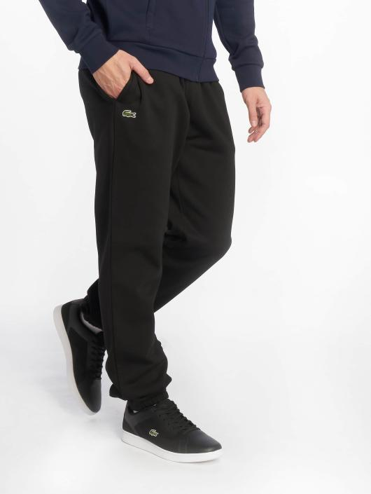 new arrivals good texture performance sportswear Lacoste Sweat Pants Black