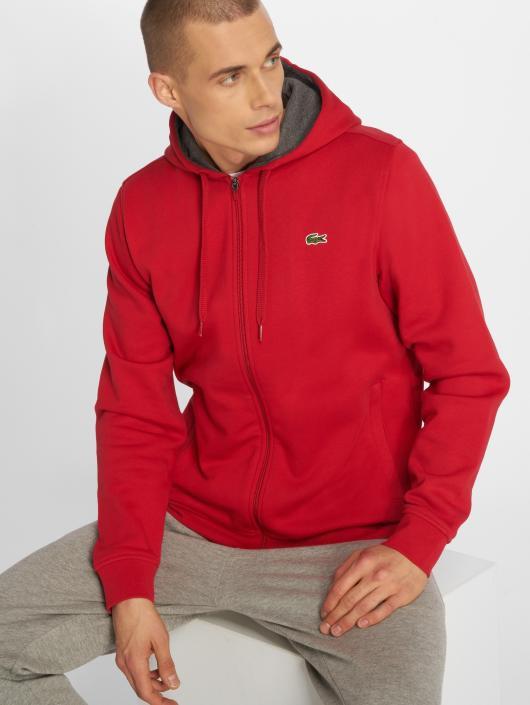 9766e2aeaf Lacoste | Classic rouge Homme Sweat capuche zippé 524221