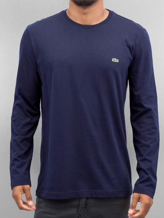 c358fbf92857 ... Lacoste T-Shirt manches longues Classic bleu ...