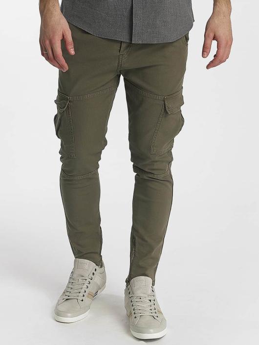 Le Temps Des Cerises Pantalon chino Jack kaki
