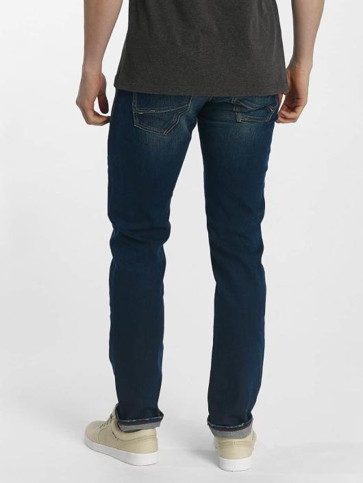 Le Temps Des Cerises Slim Fit Jeans 700/11 Basic blå