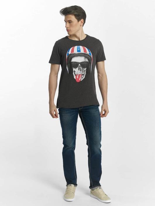Le Temps Des Cerises Slim Fit Jeans 700/11 Basic blau