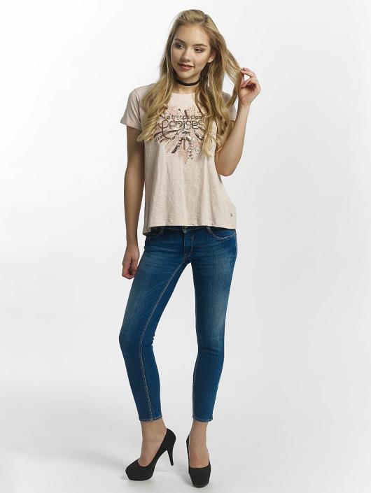 Le Temps Des Cerises Slim Fit Jeans Pulp blauw