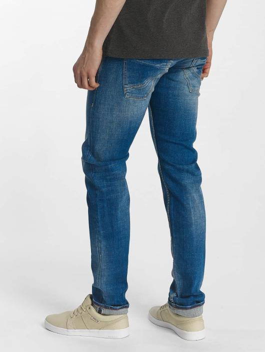 Le Temps Des Cerises Slim Fit Jeans 700/11 Basic modrá