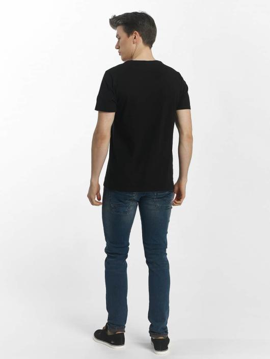 Le Temps Des Cerises Slim Fit Jeans 700/11 Basic schwarz