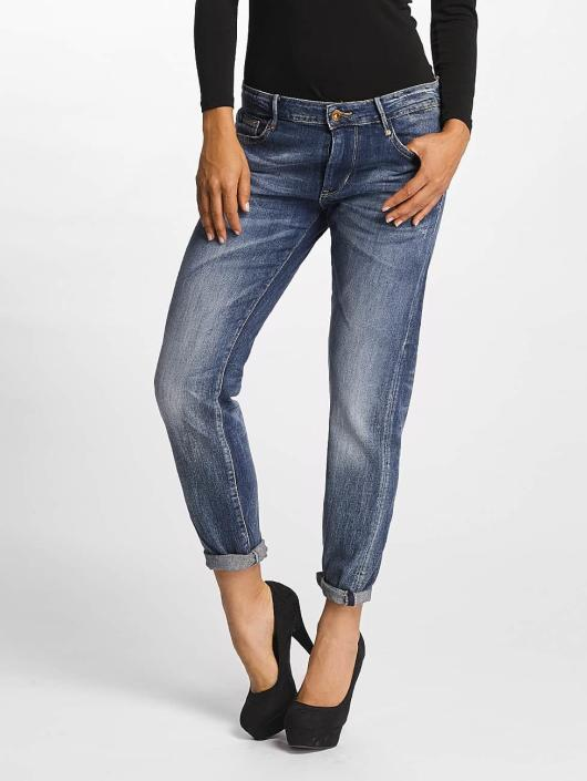 Le Temps Des Cerises Straight Fit Jeans 243 Sea blå