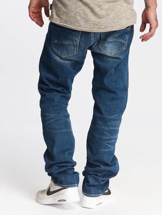 Le Temps Des Cerises Straight Fit Jeans 812 Basic blå