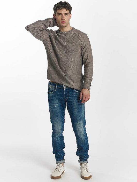 Le Temps Des Cerises Straight Fit Jeans 700/13 blå