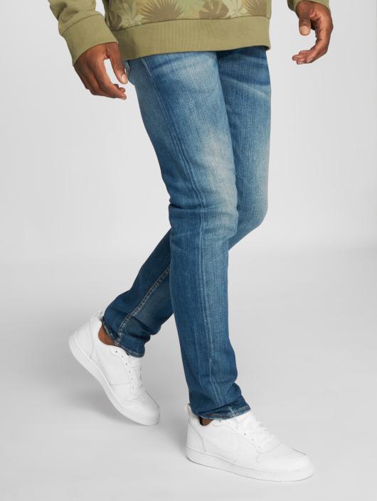 Le Temps Des Cerises Straight Fit Jeans 600/17 blau
