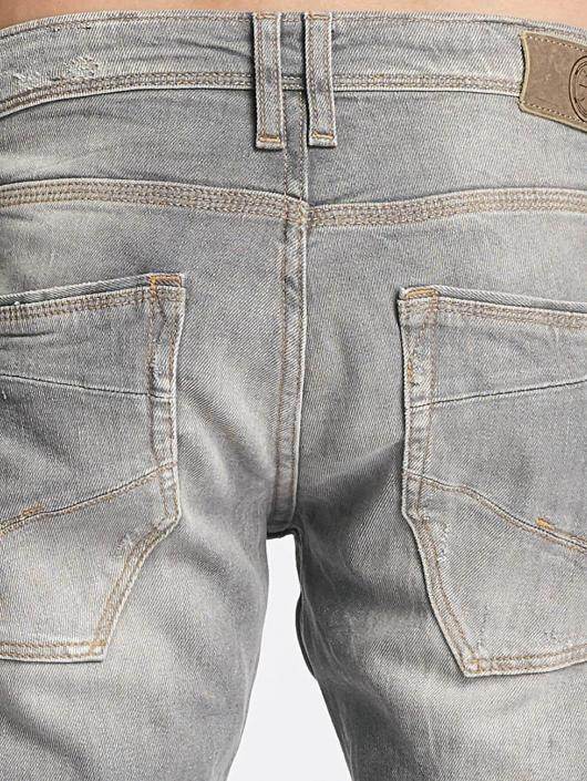 Le Temps Des Cerises Straight Fit Jeans 711 Basic grå
