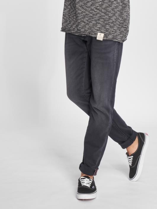 Le Temps Des Cerises Straight Fit Jeans 700/11 grå