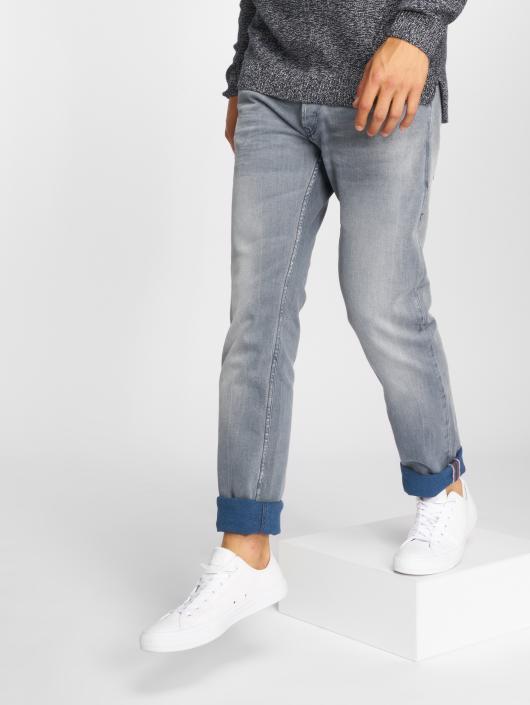 Le Temps Des Cerises Straight Fit Jeans 700/11 grau