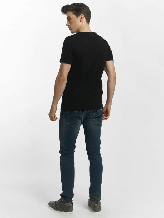 Le Temps Des Cerises t-shirt Airplane zwart